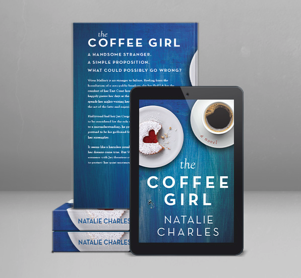 The Coffee Girl eBook design