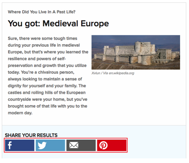 Where Did You Live In A Past Life? Quiz
