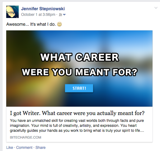 what career were you meant for quiz