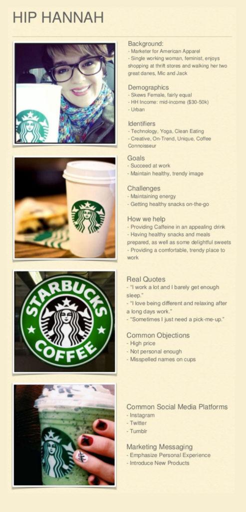 Starbucks Persona