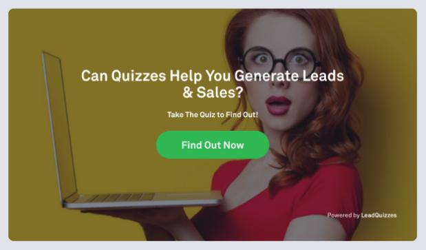 LeadQuizzes online quiz