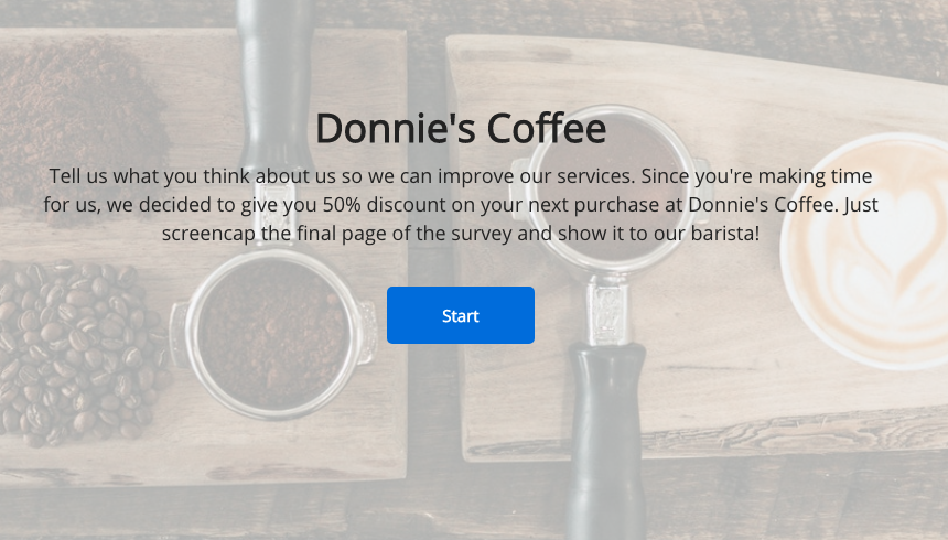 customer satisfaction survey offsite