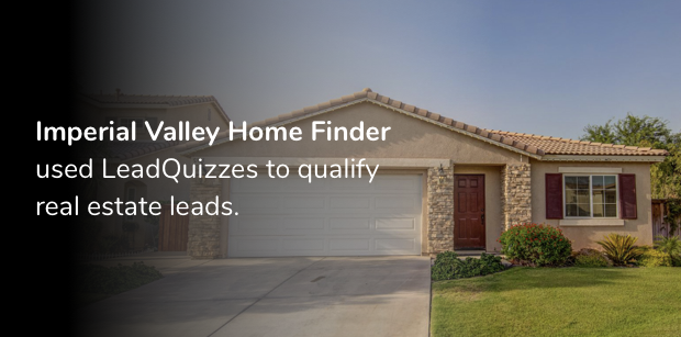 Real Estate Lead Generation Quiz