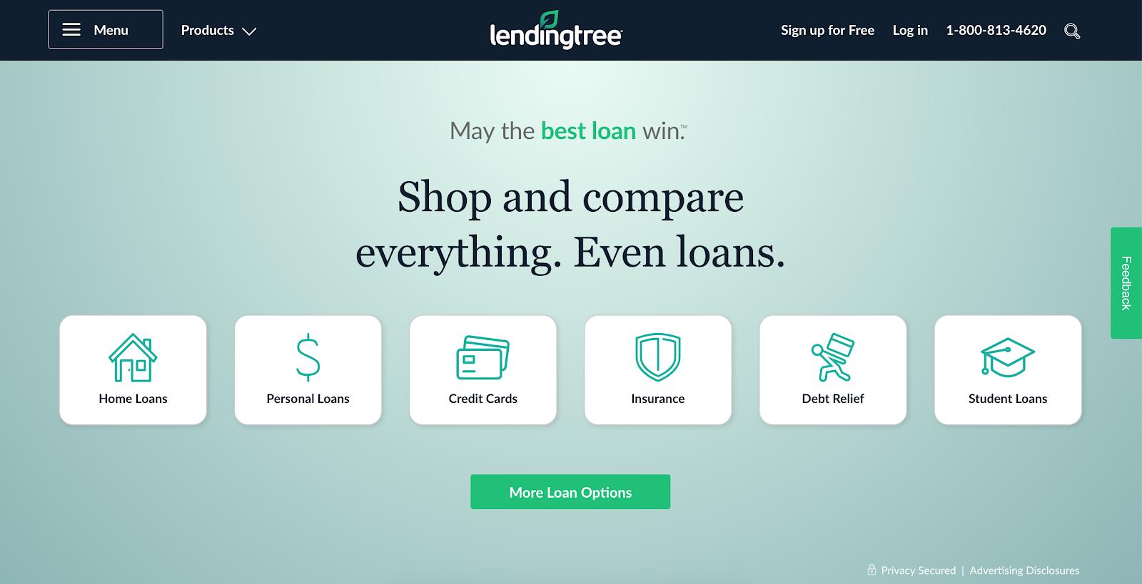Lending Tree Quiz