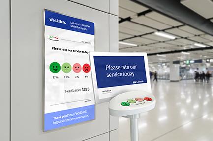Airport Likert Scale Smileys
