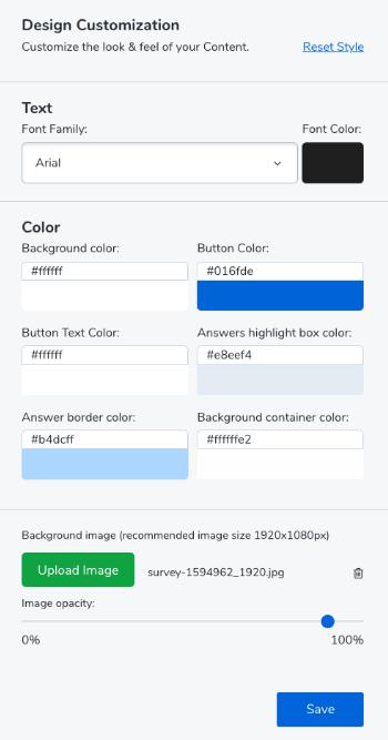 LQ design options