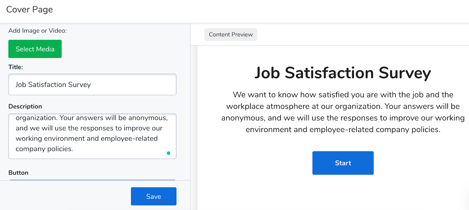 Job Satisfaction Survey Introduction