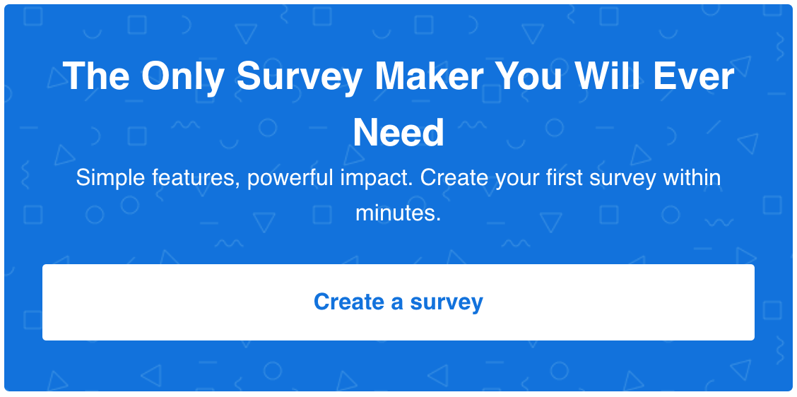 survey maker cta