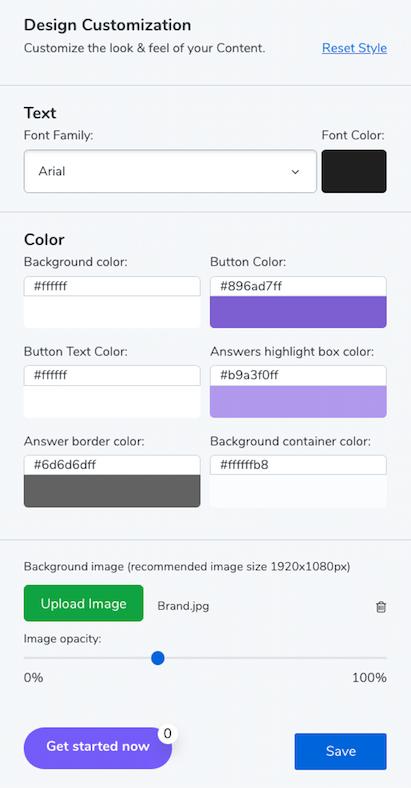 Google Forms alternative - design