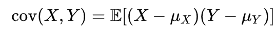 Pearson correlation coefficient formula 1